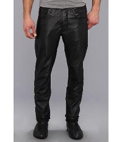 G-Star  - Afrojack A-Crotch Tapered Leather Pant