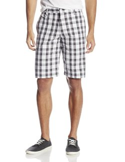 Burnside  - School Plaid Woven Shorts