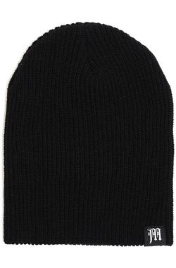 Motivation  - Detroit M Slouch Beanie Black