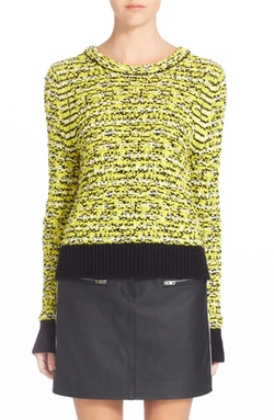 Rag & Bone  - Viola Knit Cotton Blend Sweater