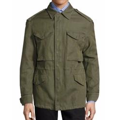 Burberry  - Tumbled Ramie Cotton Twill Field Jacket