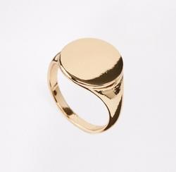 Selected  - Femme Emma Signet Ring