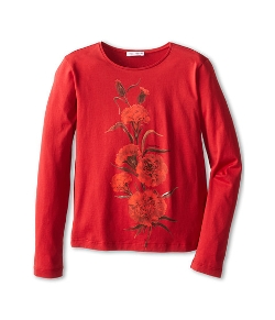 Dolce & Gabbana  - Embroidered Rose Shirt