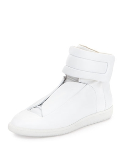 Maison Margiela  - Future Leather High-Top Sneakers