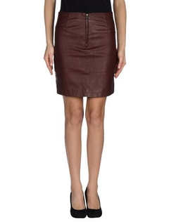 Only - Faux Leather Mini Skirt