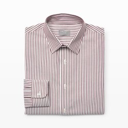 Club Monaco - Slim-Fit Stripe Dress Shirt