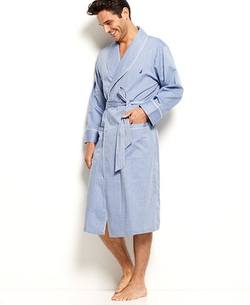 Nautica - Anchor Woven Shawl Collar Robe