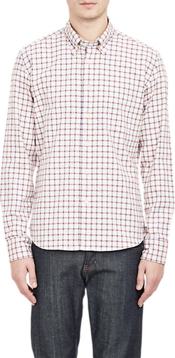 Brooklyn Tailors - Flecked Plaid Shirt
