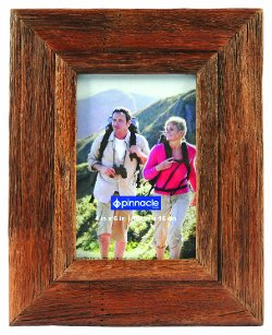 Pinnacle  - Distressed Lodge Solid Wood Frame