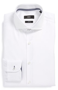Boss Hugo Boss - Jery Slim Fit Easy Iron Dress Shirt