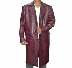 Leather Hub - Suicide Squad Jared Leto Joker Coat