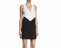 Alice + Olivia  - Maya Colorblock Racerback Dress