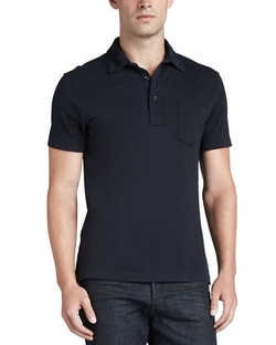 Ralph Lauren Black Label - Patch-Pocket Polo Shirt