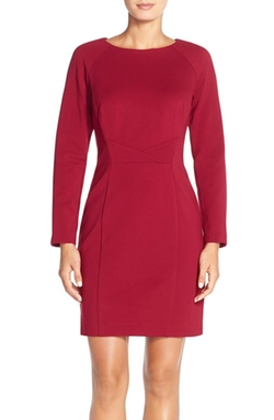 Tahari - Ponte Knit Sheath Dress