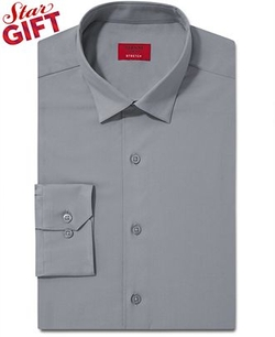 Alfani  - Spectrum Slim-Fit Solid Dress Shirt