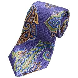 Ike Behar  - Large Paisley Tie