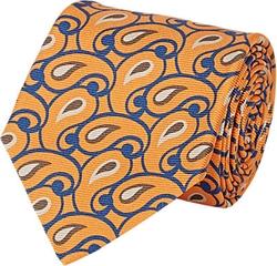Kiton - Paisley Faille Necktie