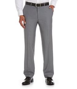 Hart Schaffner Marx - Tailored Flat-Front Dress Pants