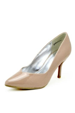Bamboo - Pointed Patent Pumps