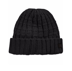 Sean John - Threaded Chunky Ribbed Beanie Hat