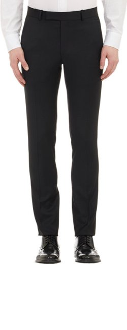 Band of Outsiders No Bunk No Junk  - Piped Twill Trousers
