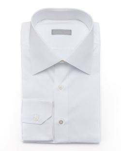 Stefano Ricci	 -  Stefano Ricci	 Basic Barrel-Cuff Dress Shirt
