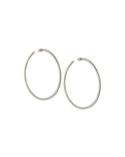 Gurhan - Hammered Sterling Hoop Earrings