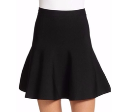 BCBGMAXAZRIA  - Ingrid Ponte Knit Fit-&-Flare Skirt