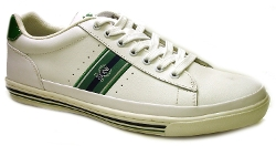 Izod - Classic White Leather Sneakers