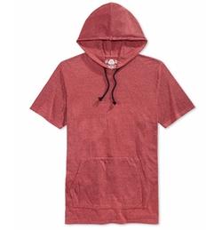 American Rag - Double-Dyed Short-Sleeve Hoodie