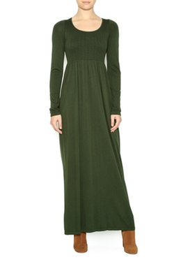 M Rena - Long Sleeve Maxi Dress