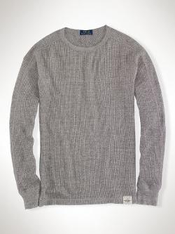 Polo Ralph Lauren  - Waffle-Knit Crewneck Thermal