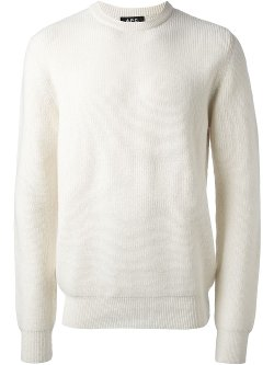 A.P.C. - Ribbed Sweater