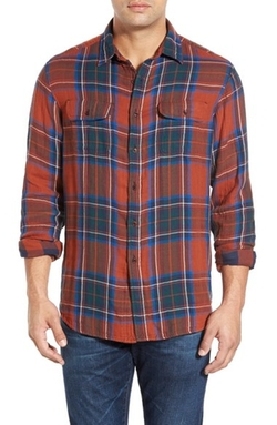 Tailor Vintage - Reversible Plaid Sport Shirt