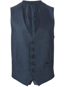 Ermenegildo Zegna - Woven Houndstooth Waistcoat