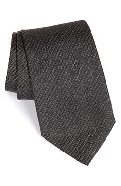 Armani Collezioni - Stripe Silk Tie
