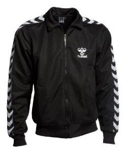 Hummel - Atlantic Zip Jacket in Black and White