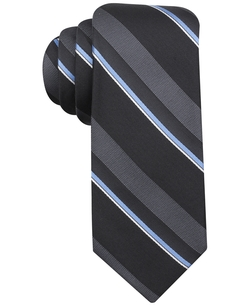 Ryan Seacrest Distinction - Social Stripe Slim Tie