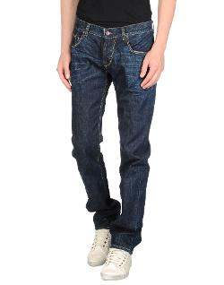 Jey Cole Man - Washed Denim Pants