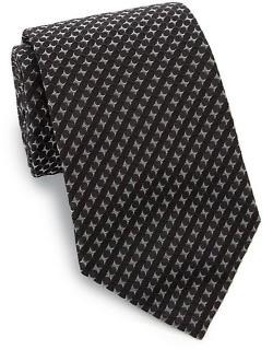 Armani Collezioni - Tonal Print Silk Tie