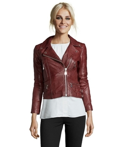 Doma  - Leather Moto Jacket