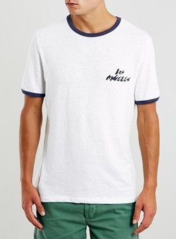 Topman - Slubby La Ringer T-Shirt