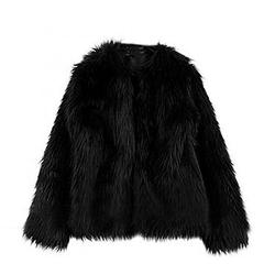 Funoc - Warm Faux Fur fleece Coat