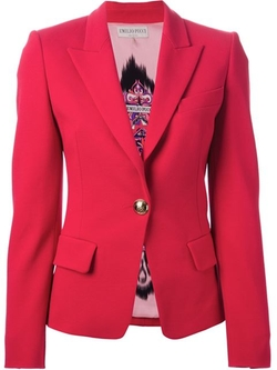 Emilio Pucci - Decorative Button Blazer
