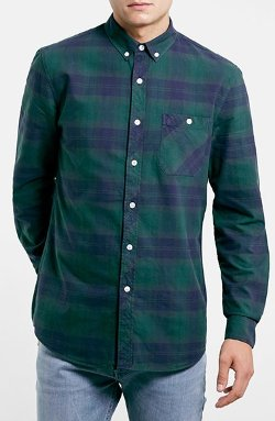 Topman  - Tartan Plaid Shirt