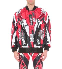 KTZ - Motocross Print Bomber Jacket