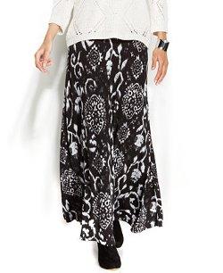 INC - Printed Maxi Skirt