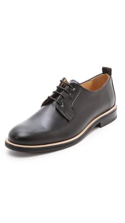 Carven  - Pull Leather Derby Shoes