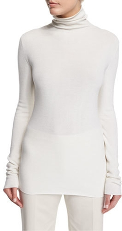 The Row - Tember Long-Sleeve Turtleneck Top