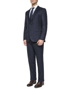 Boss Hugo Boss   - Windowpane Two-Piece Wool Suit